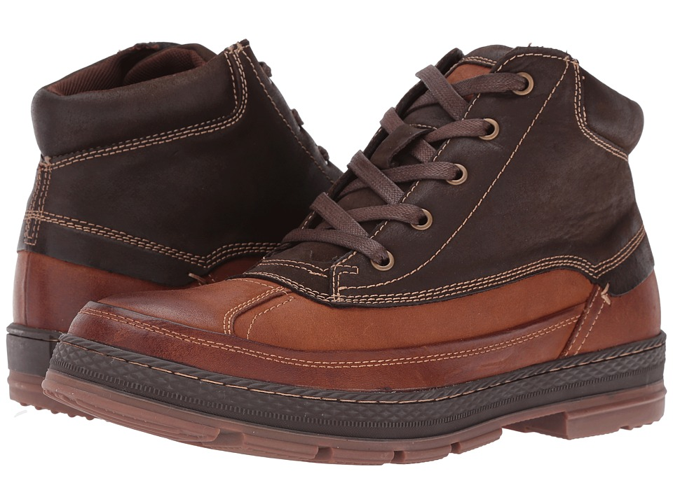 Steve Madden - Belicose (Brown/Tan) Men's Lace-up Boots