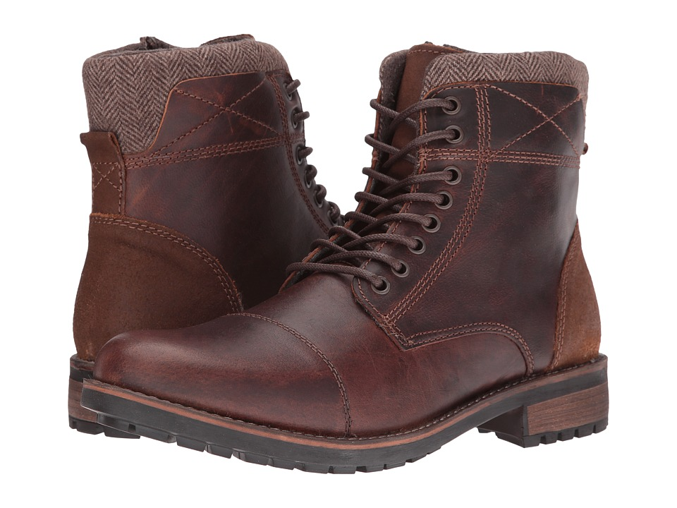 Steve Madden - Sargeant (Wood) Men's Lace-up Boots