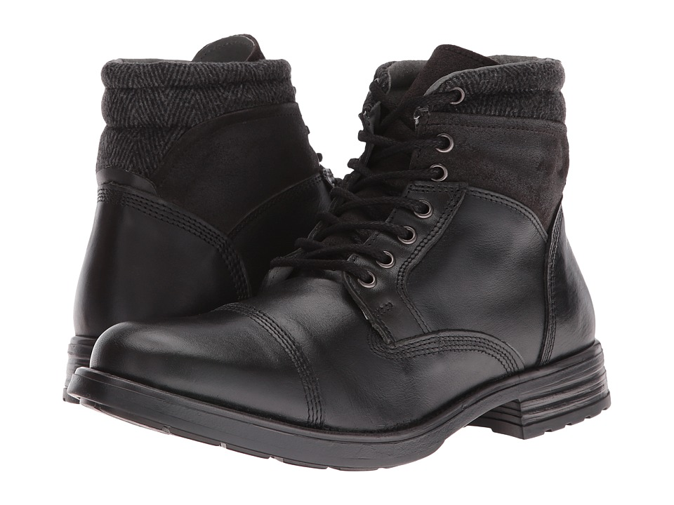 Steve Madden Gunison (Black) Men
