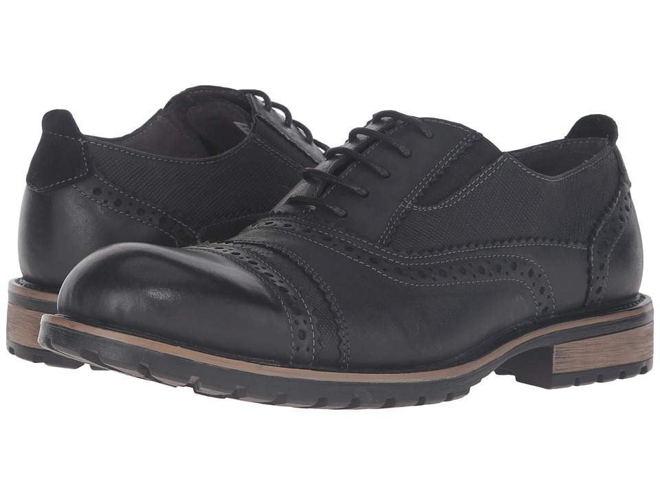 Steve Madden - Spanner (Black) Men's Shoes