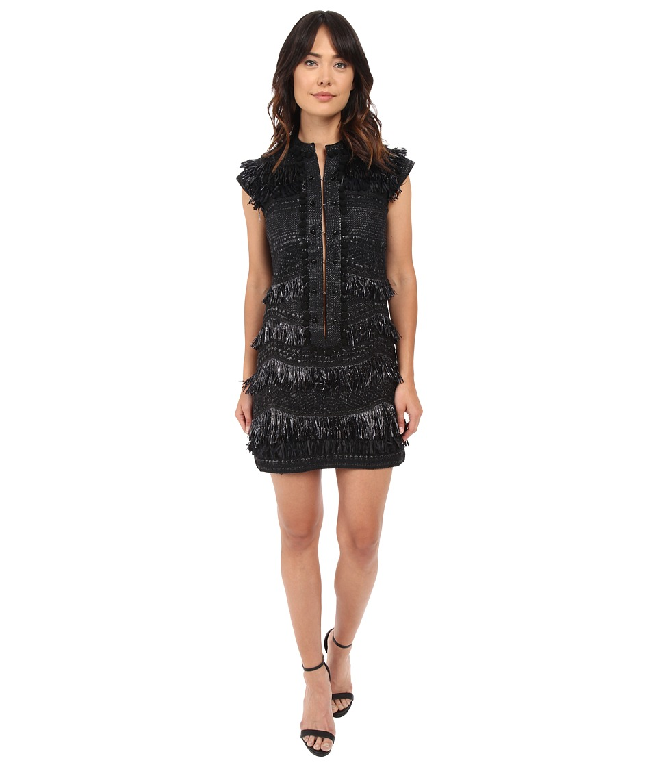 LOVE Binetti - The Cars Dress (Black) Women's Dress