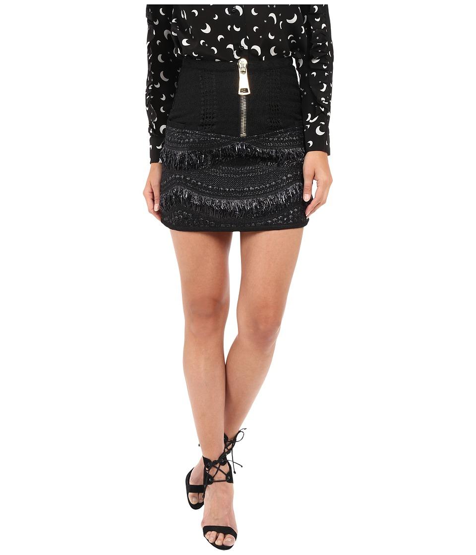 LOVE Binetti - The Cars Skirt (Black) Women's Skirt