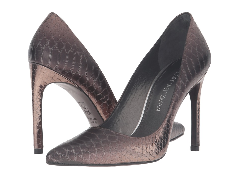 Stuart Weitzman - Tara (Earth Shadow Serpent) Women's Shoes