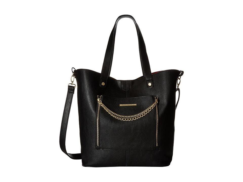 Steve Madden - Brayna (Black/Floral) Handbags