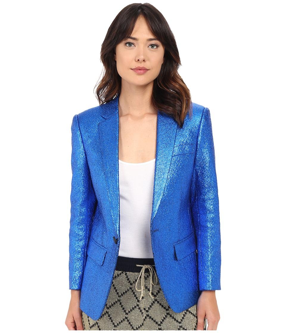 LOVE Binetti - Mick Jagger Jacket (Electric Blue) Women's Coat