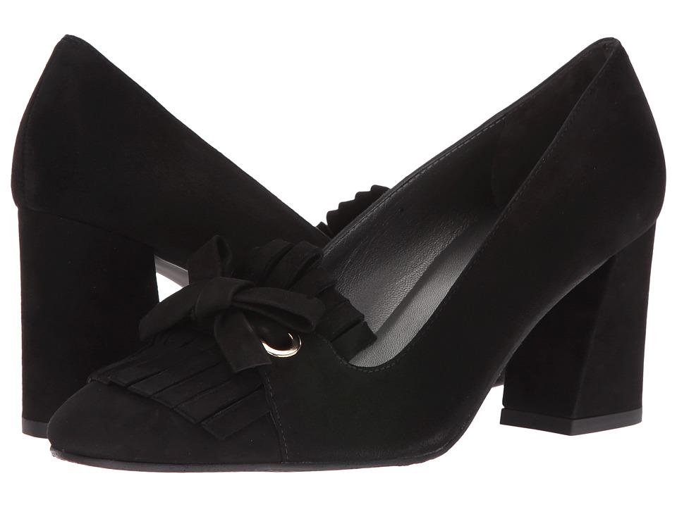 Stuart Weitzman - Fliptop (Black Suede) Women's Shoes