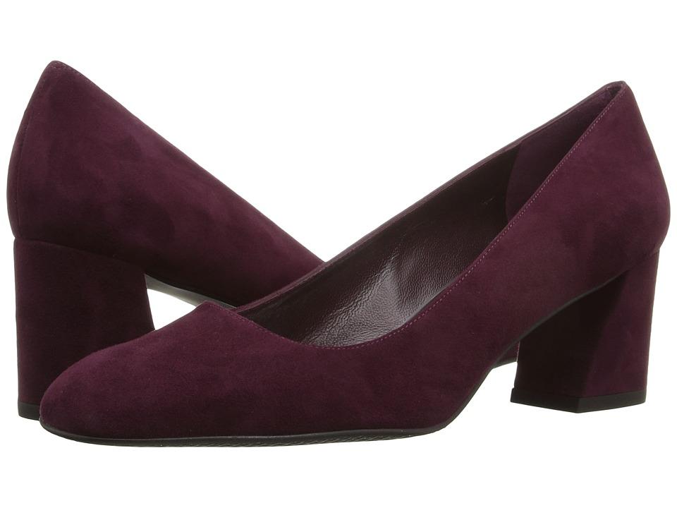 Stuart Weitzman - Mary (Bordeaux Suede) Women's Shoes