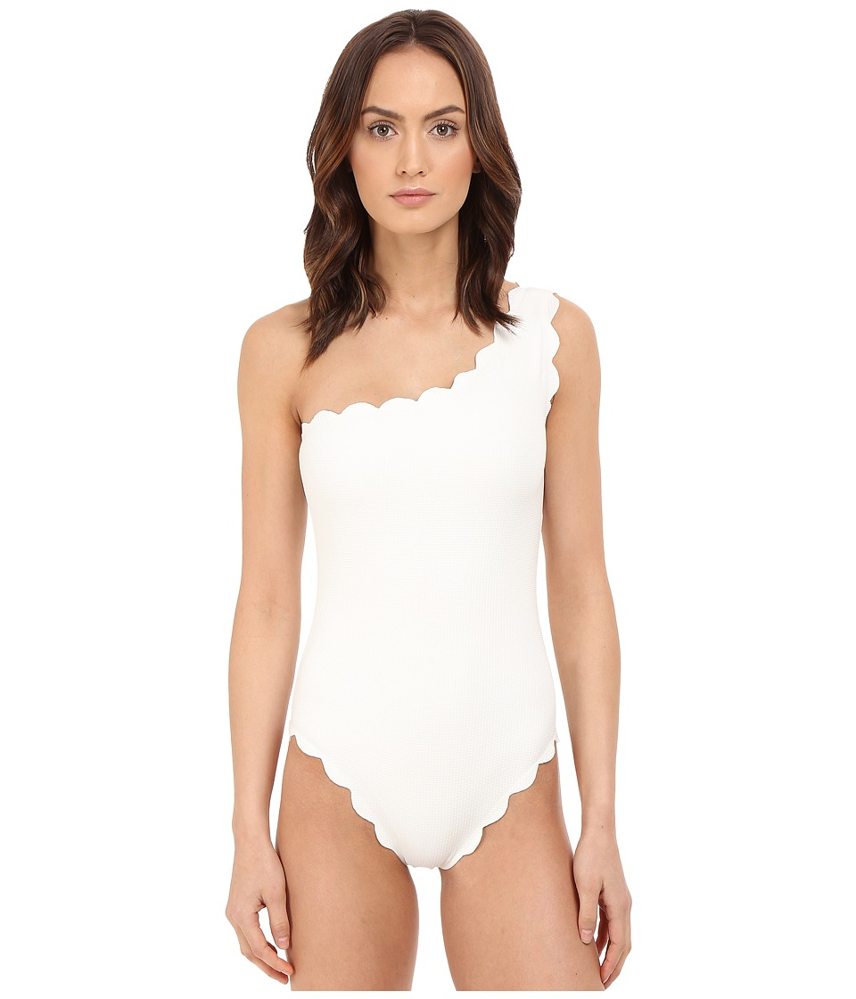 Marysia - Santa Barbara Maillot (Off-White) Women's Swimsuits One Piece