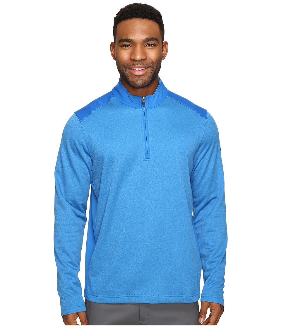 Oakley - Range Pullover 1/4 Zip (Ozone) Men's Clothing