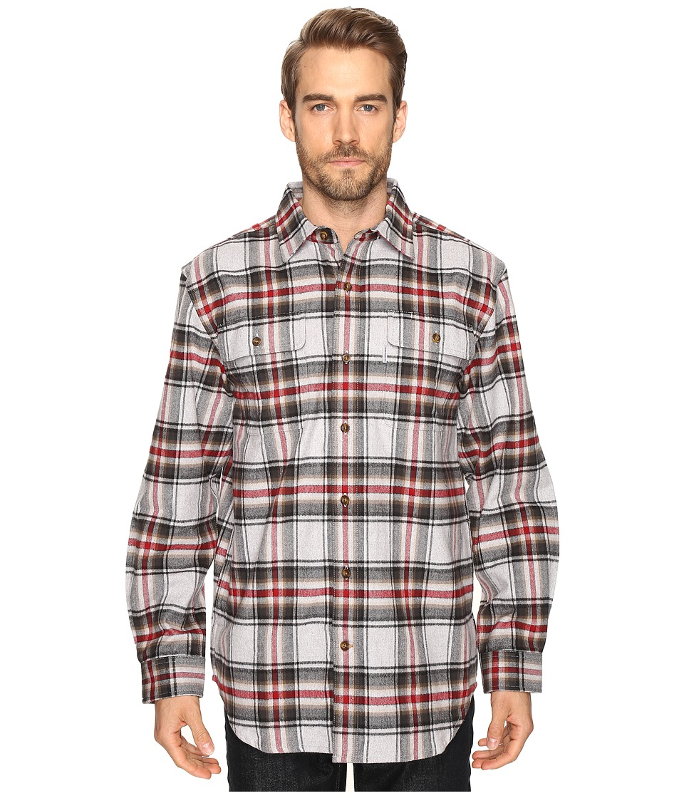 Carhartt - Hubbard Plaid Shirt (Shadow) Men's Long Sleeve Button Up