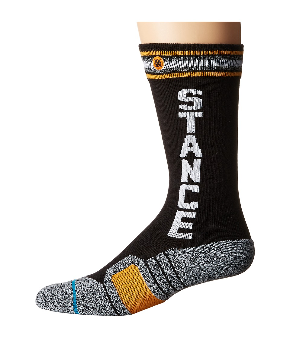 Stance - Meyers (Black) Men's Crew Cut Socks Shoes