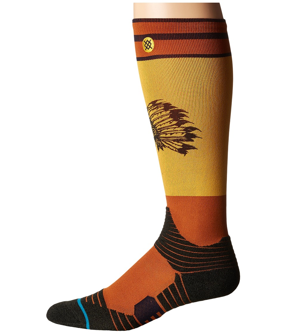 Stance - Louif (Rasta) Men's Crew Cut Socks Shoes