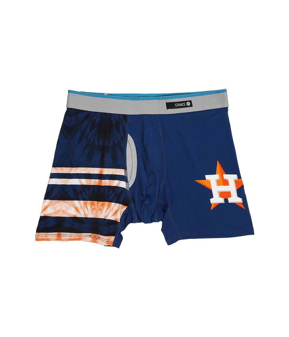 Stance - Tie-Dye Astros (Orange) Men's Underwear
