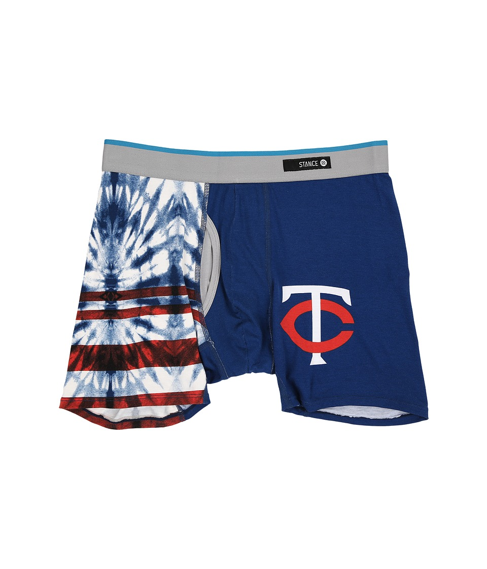 Stance - Tie-Dye Twins (Blue) Men's Underwear