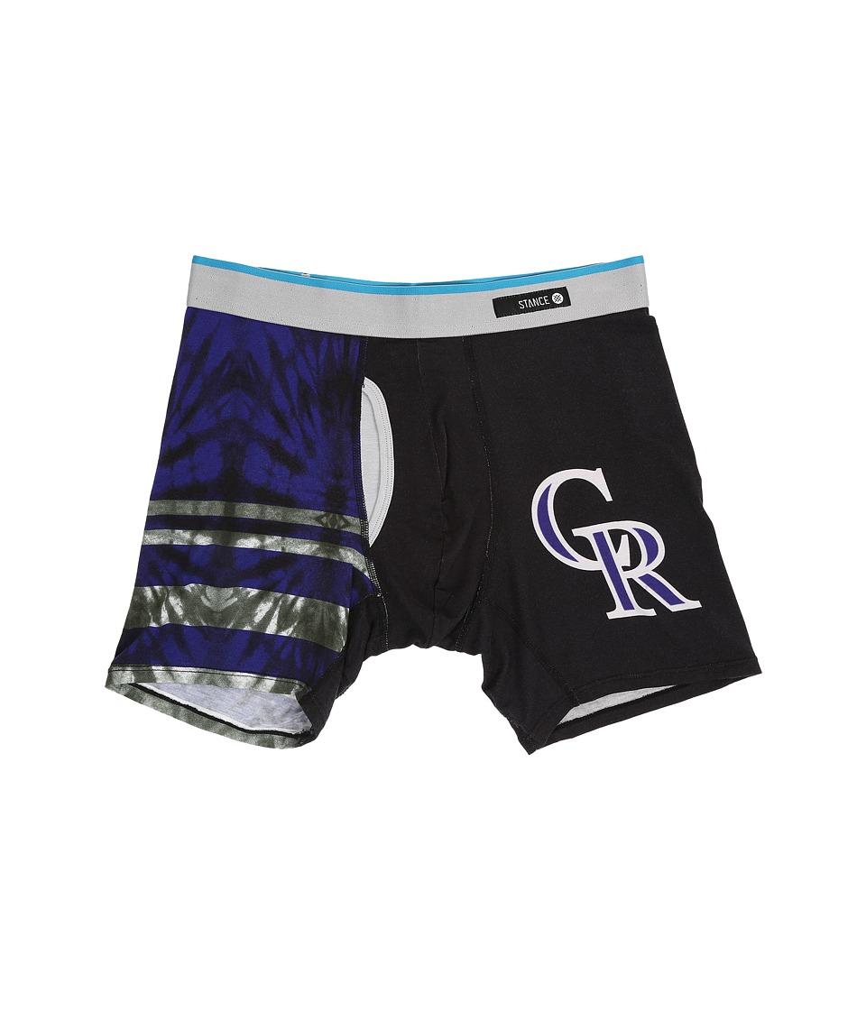 Stance - Tie-Dye Rockies (Black) Men's Underwear