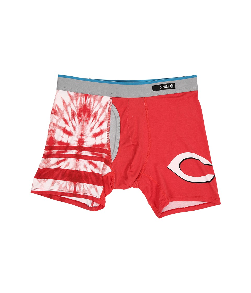 Stance - Tie-Dye Reds (Red) Men's Underwear