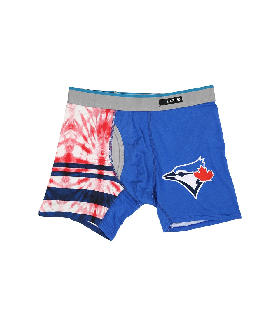 Stance - Tie-Dye Blue Jays (Blue) Men's Underwear