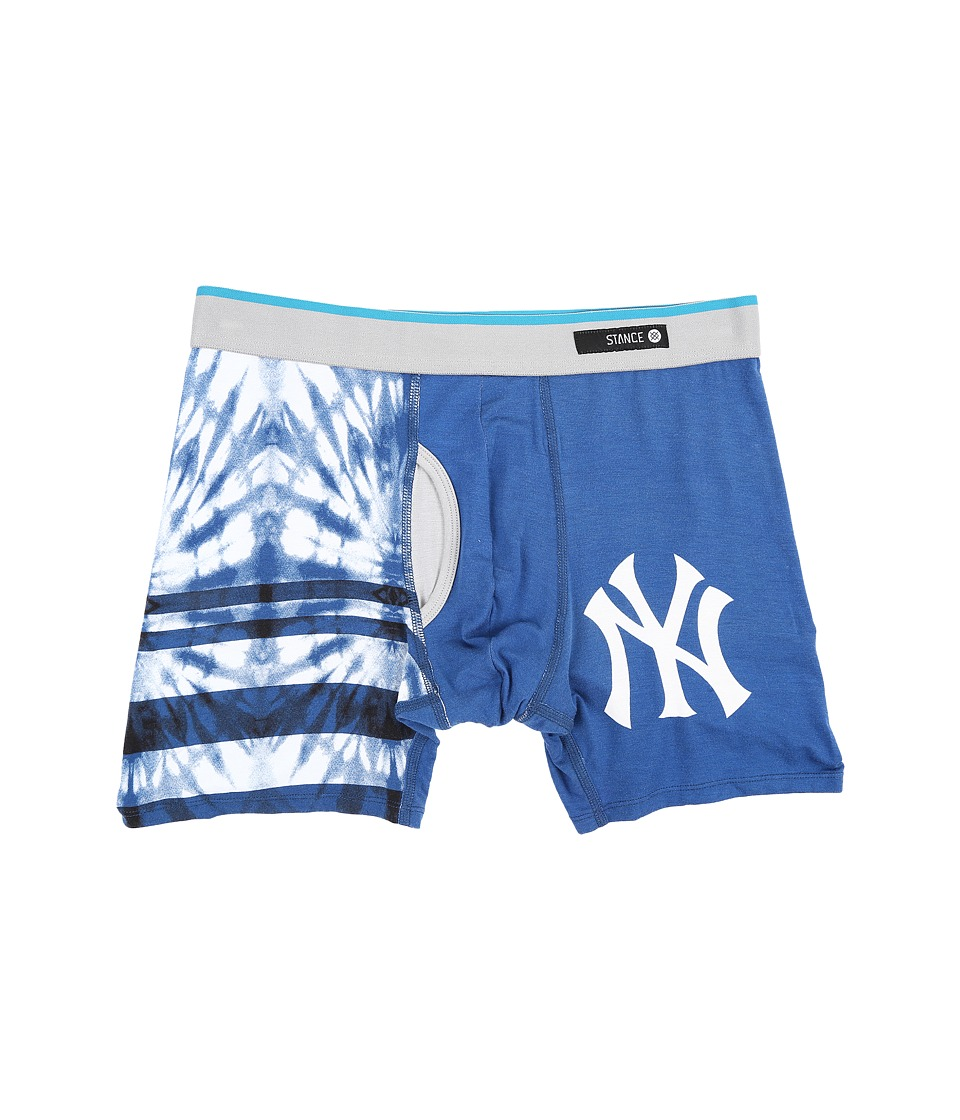 Stance - Tie-Dye Yankees (Navy) Men's Underwear