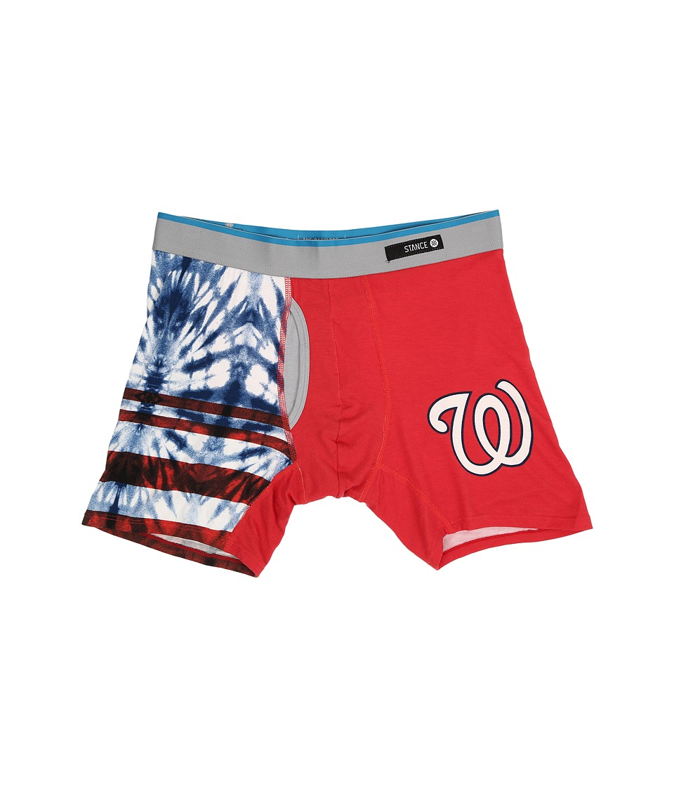 Stance - Tie-Dye Nationals (Red) Men's Underwear