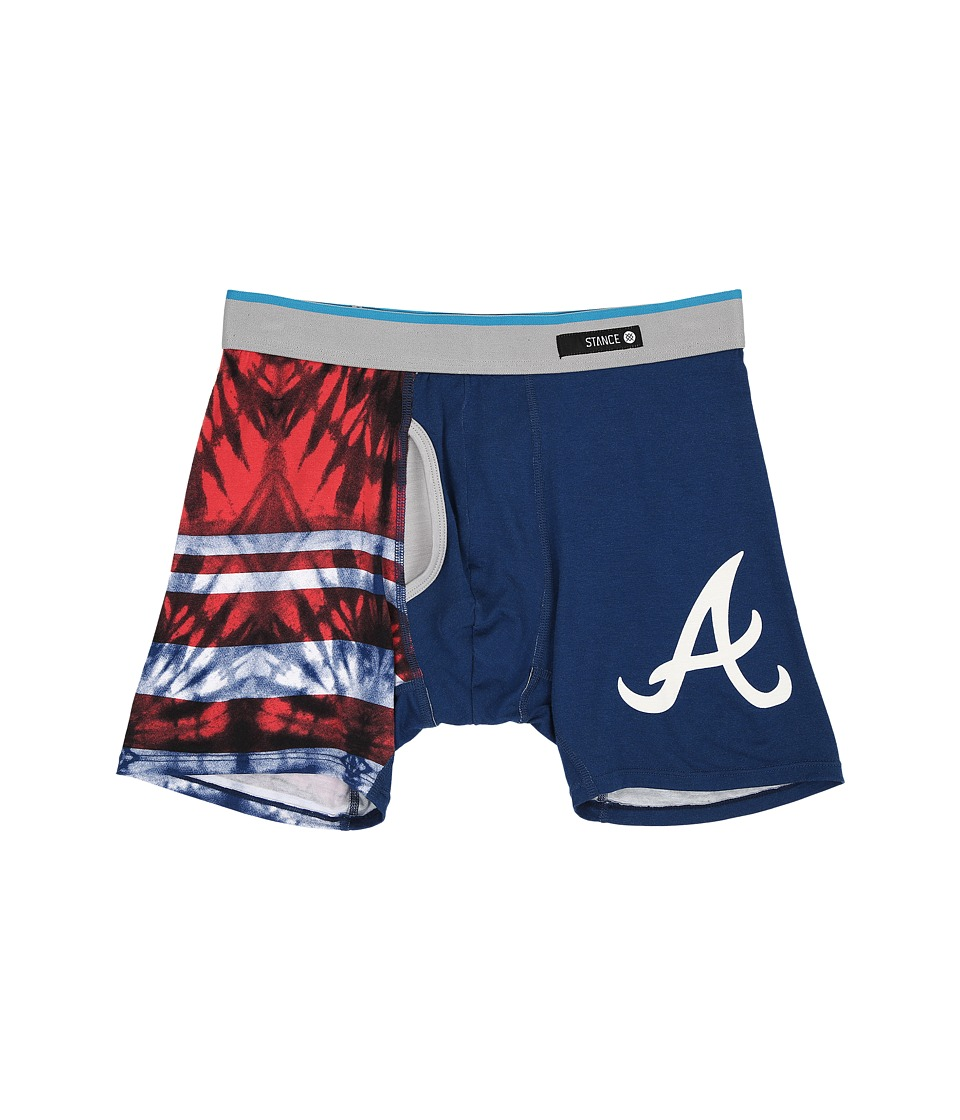 Stance - Tie-Dye Braves (Blue) Men's Underwear