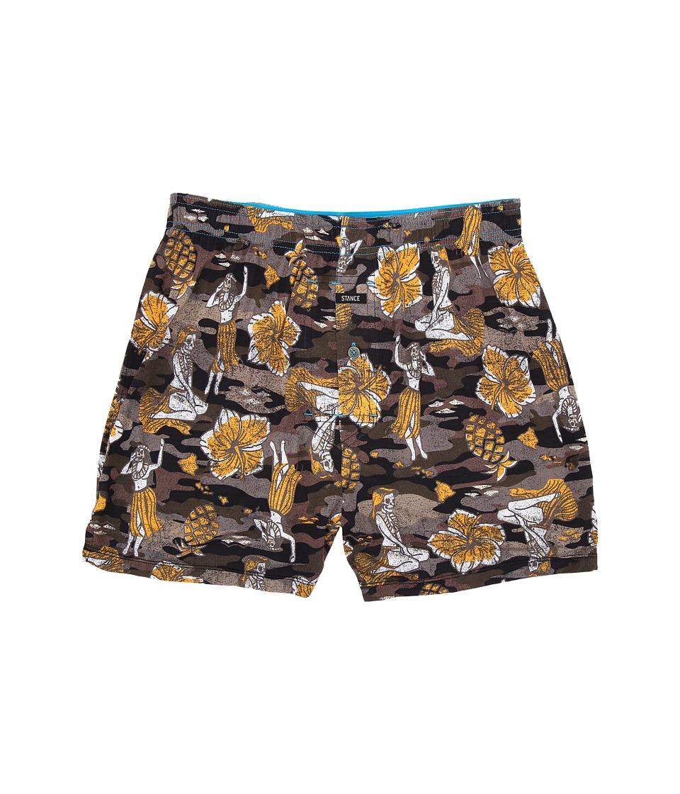 Stance - Hulaween Camo (Black) Men's Underwear