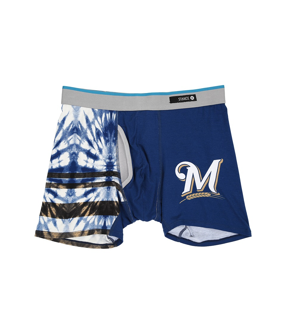 Stance - Tie-Dye Brewers (Blue) Men's Underwear