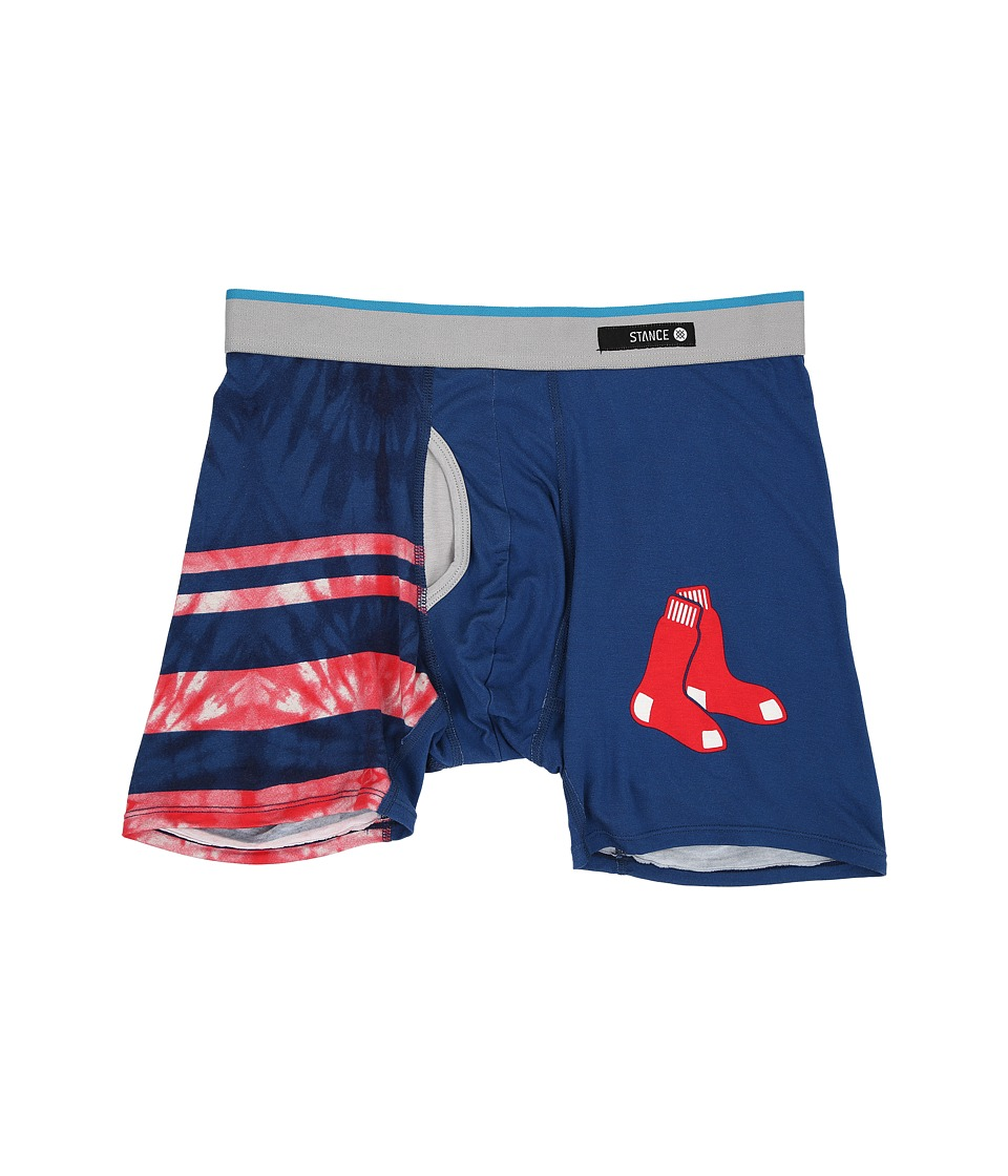 Stance - Tie-Dye Red Sox (Red) Men's Underwear