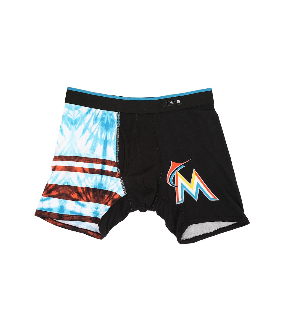 Stance - Tie-Dye Marlins (Black) Men's Underwear