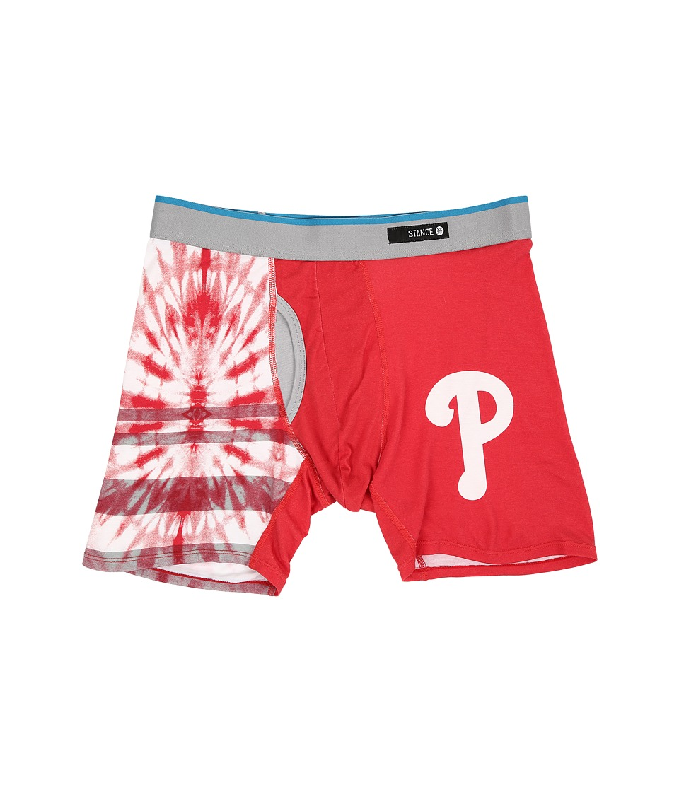 Stance - Tie-Dye Phillies (Red) Men's Underwear