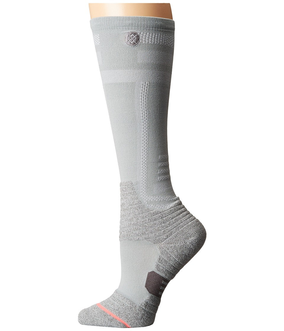 Stance - Muriel (Grey) Women's Crew Cut Socks Shoes