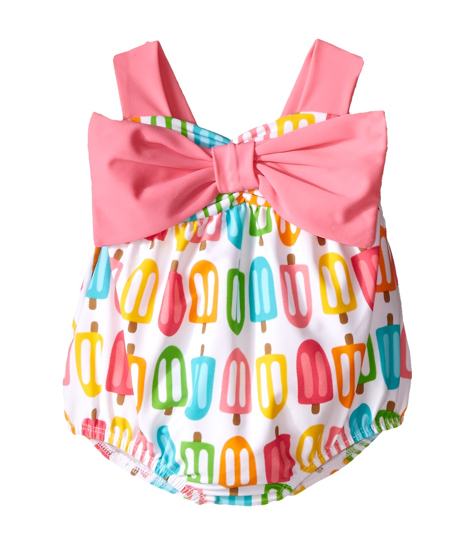 Mud Pie - Popsicle Swimsuit (Infant) (Pink) Girl's Swimsuits One Piece