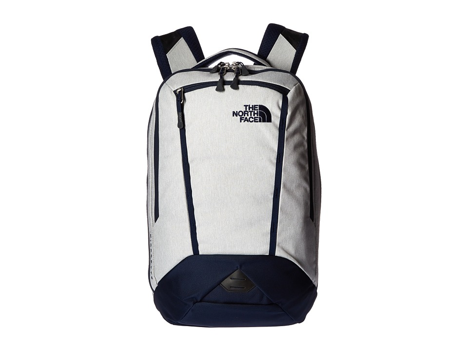 The North Face - Microbyte Backpack (Highrise Grey Heather/Cosmic Blue) Backpack Bags