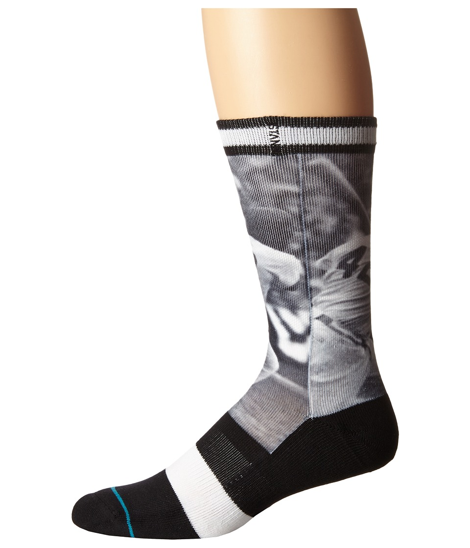 Stance - Jr42 (Black) Men's Crew Cut Socks Shoes