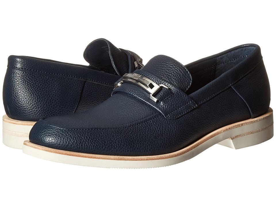 Calvin Klein Yannie (Dark Navy Tumbled Leather) Men