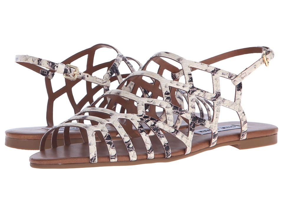 Steve Madden - Serpa (Natural Snake) Women's Sandals