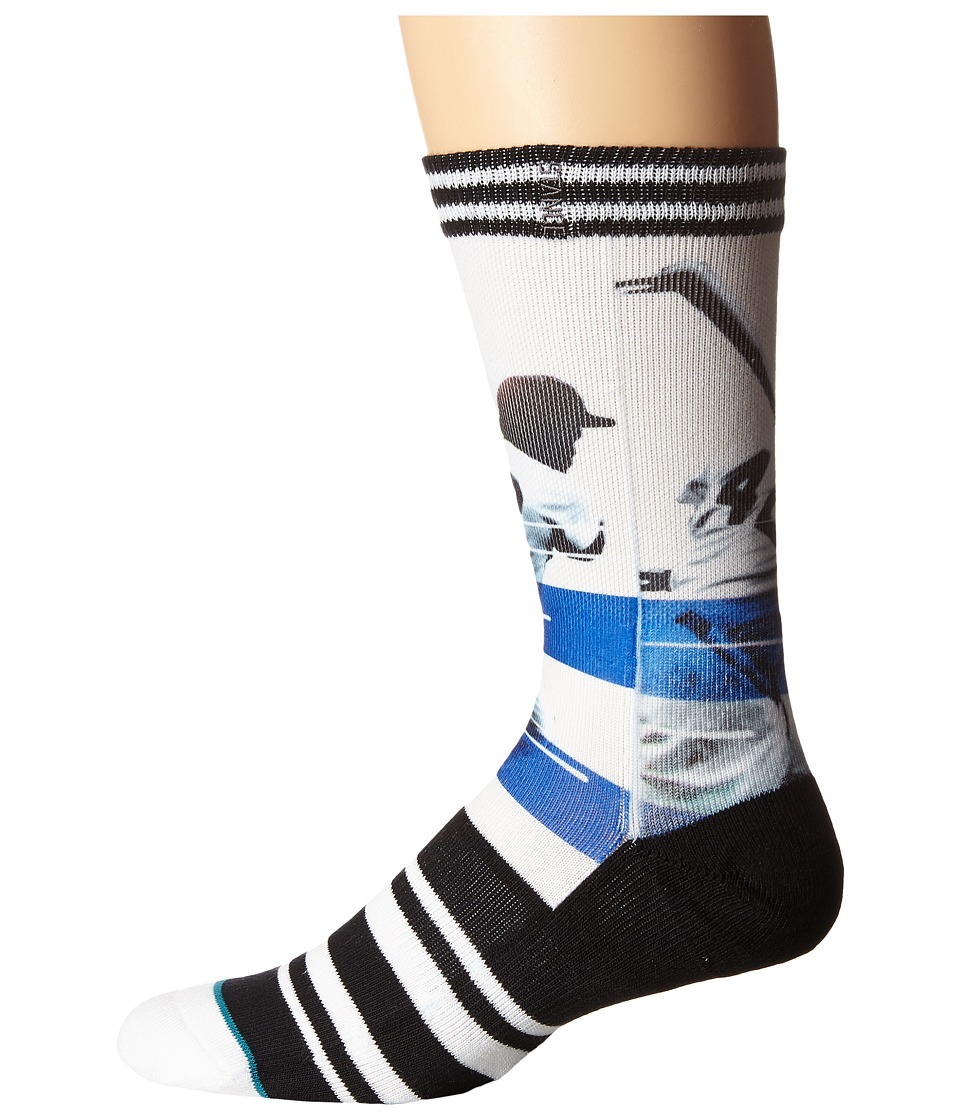 Stance - Jackie (Black) Men's Crew Cut Socks Shoes