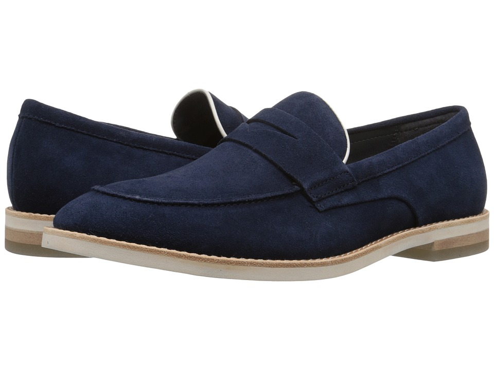 Calvin Klein Andron (Dark Navy/Latte Oily Suede/Smooth) Men