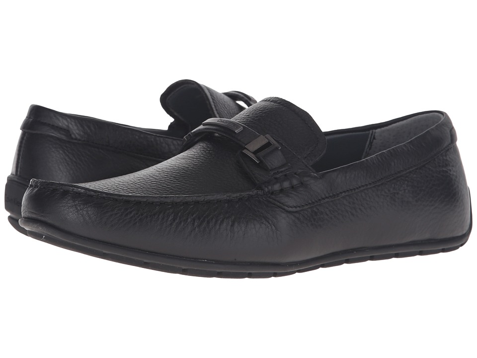 Calvin Klein Ignacio (Black Tumbled Cow Leather) Men