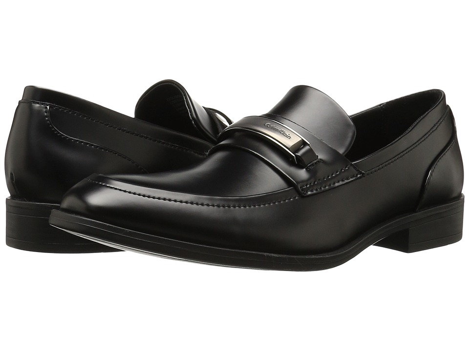 Calvin Klein - Douggie (Black Box Leather) Men's Shoes
