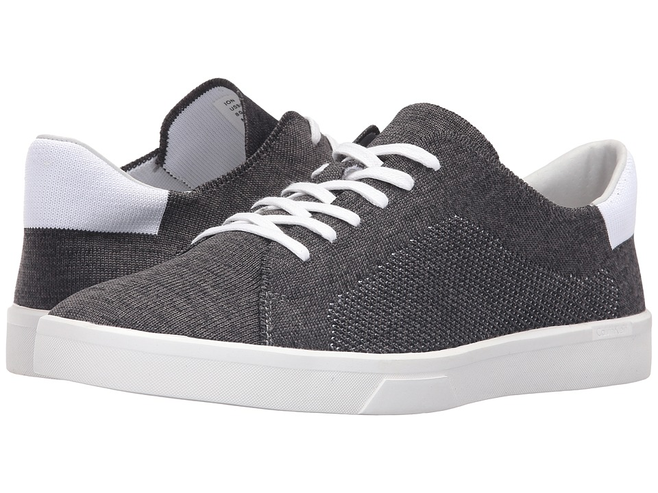Calvin Klein - Ion (Black Heathered Knit) Men's Lace up casual Shoes