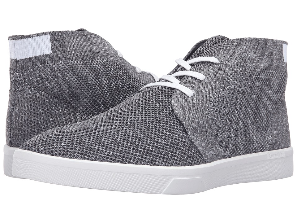 Calvin Klein Indio (Grey/White Heather/Solid Knit) Men