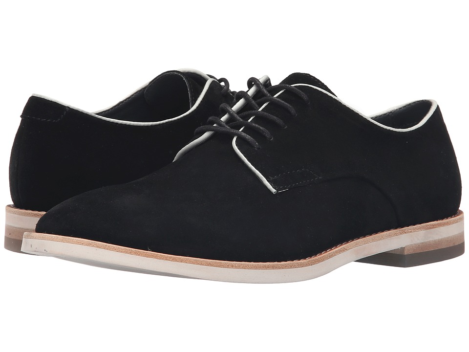 Calvin Klein - Aggussie (Black/Latte Oily Suede/Smooth) Men's Shoes