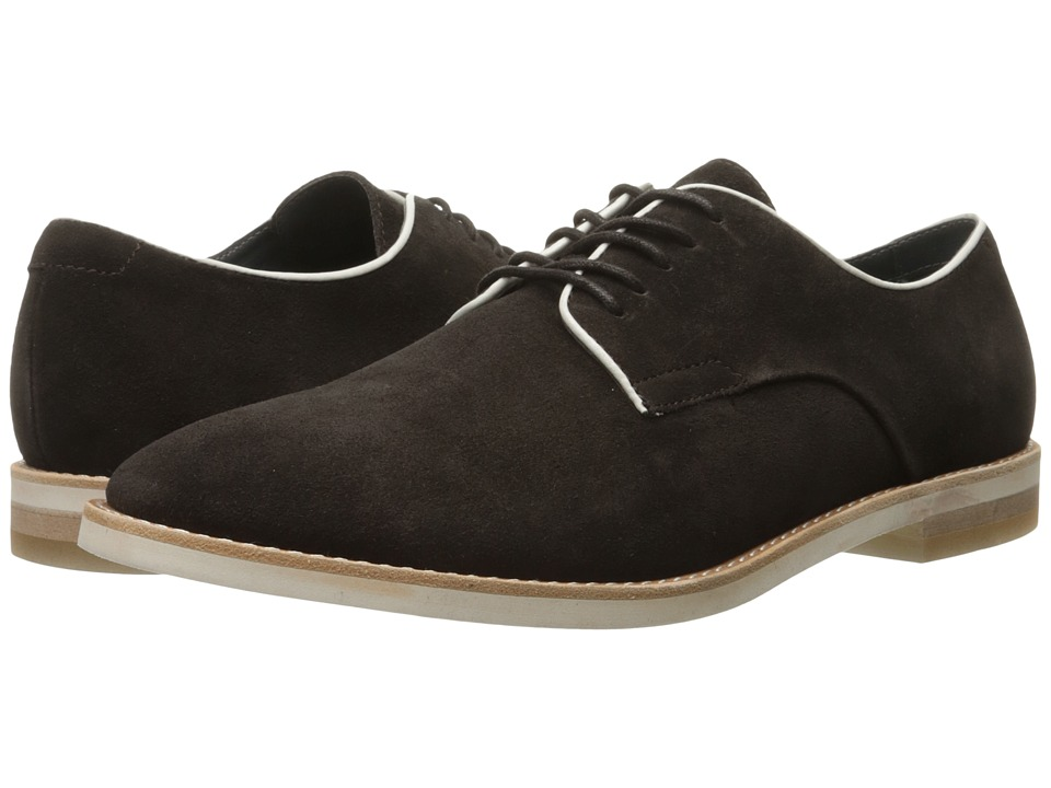 Calvin Klein Aggussie (Dark Brown/Latte Oily Suede/Smooth) Men