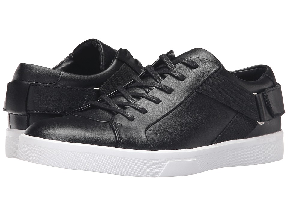 Calvin Klein - Italo (Black Leather) Men's Shoes