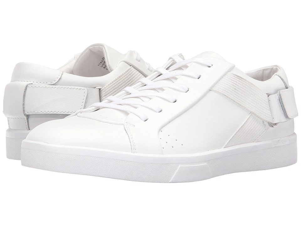 Calvin Klein Italo (White Leather) Men