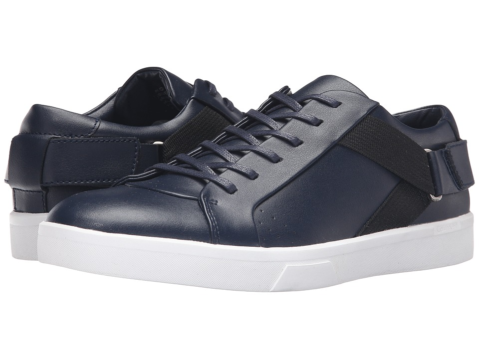 Calvin Klein Italo (Dark Navy Leather) Men
