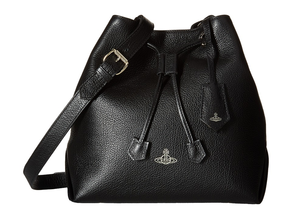 Vivienne Westwood - Balmoral Bag (Black) Handbags