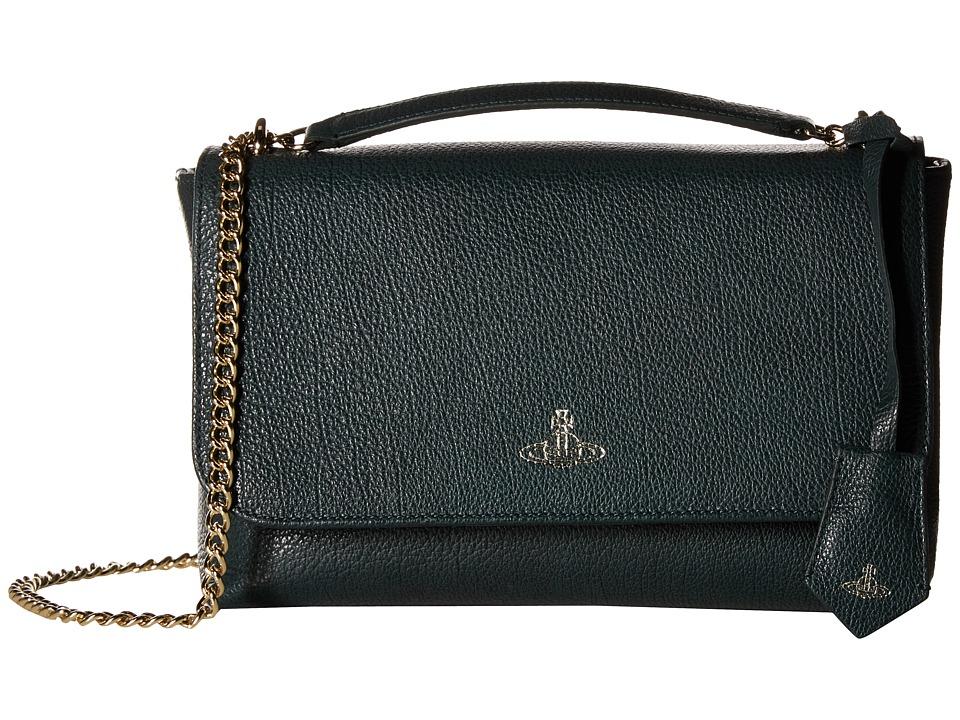 Vivienne Westwood - Balmoral Bag (Green) Handbags