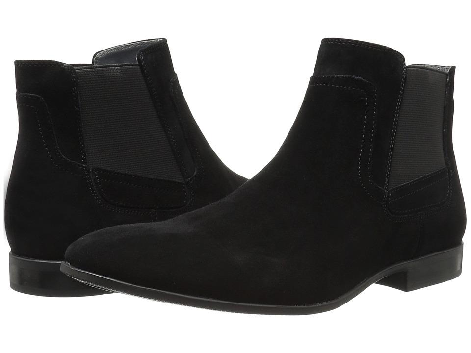 Calvin Klein - Clarke (Black Oily Suede/Gore) Men's Boots