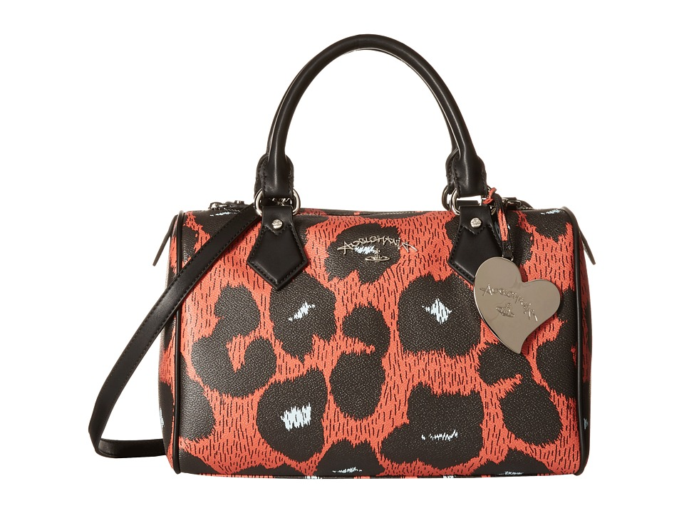 Vivienne Westwood - Leopardmania Bag (Orange) Handbags